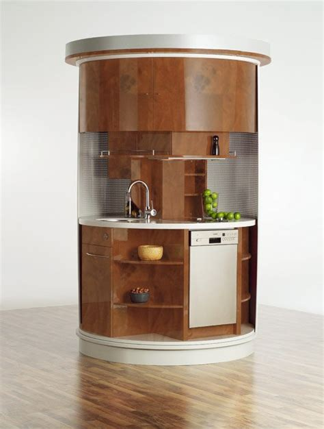 Kitchen Furniture For Small Spaces | very small kitchen which has everything needed circle
