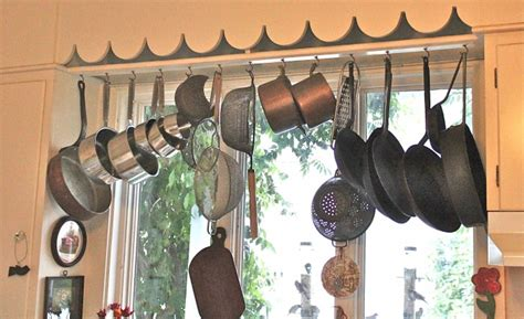 Window Pot Rack What S In Your Kitchen Susan Branch