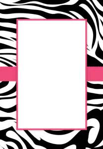 leopard print invitations templates free printable zebra stripes invitation invitation