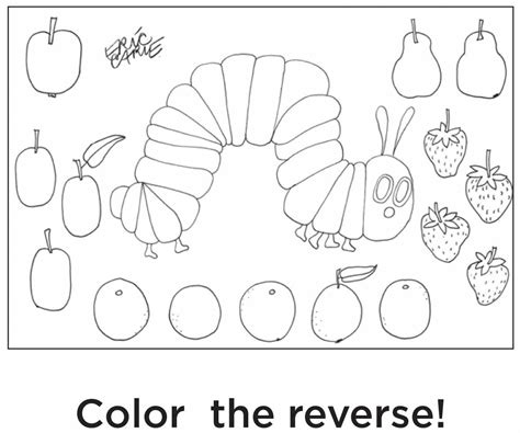 free printable coloring pages very hungry caterpillar free coloring pages of hungry caterpillar
