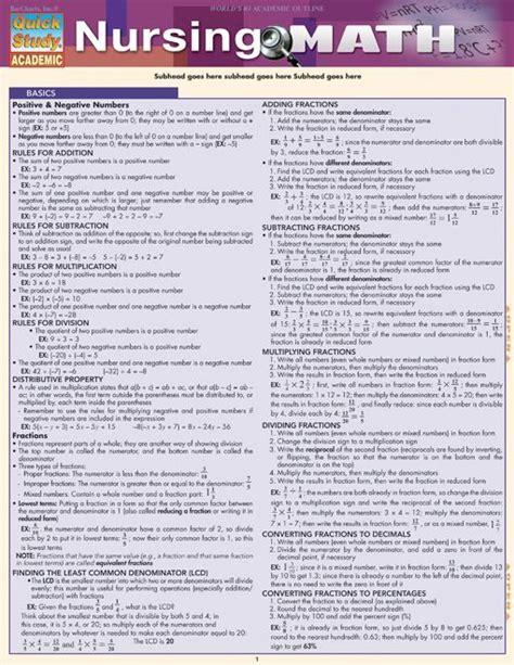 Nursing Math Worksheets by Nursing Math Equation Teaching And Classroom