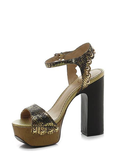 Follie Follie Black Gold 02413 sandalo alto black gold ash le follie shop