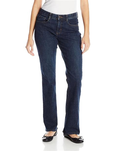 lee comfort waistband stretch jeans lee womens jeans comfort fit barely bootcut jean stretch