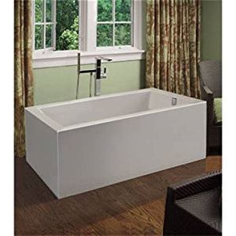 60 inch freestanding bathtubs mti andrea 15a freestanding sculpted tub 60 inch x 30 inch x 21 75 inch