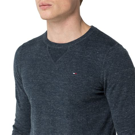 Sweater Temmy Navy hilfiger ethan sweater in blue for lyst