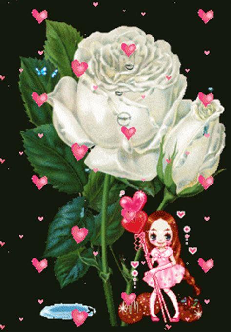 imagenes de rosas animadas en movimiento im 225 genes de rosas blancas con movimiento para fondos