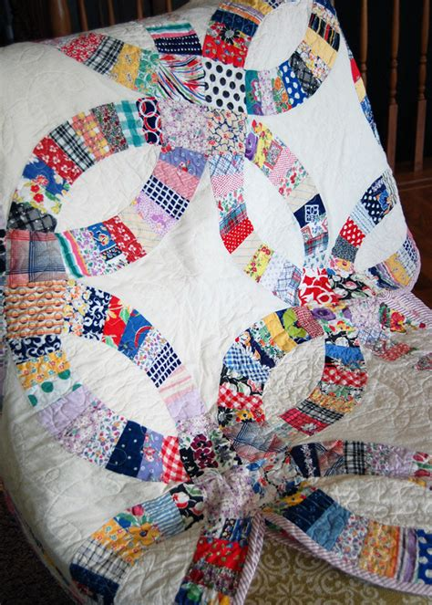 How To Make A Wedding Ring Quilt by Quilts We Ve Made Wedding Ring The Cloth Parcel