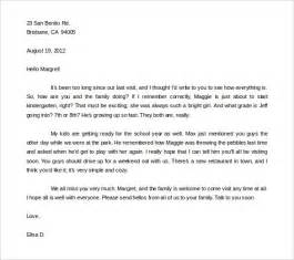 36 friendly letter templates free sle exle