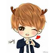 Exo Chanyeol Wolf Chibi Sketch/fanart On Pinterest  Luhan And