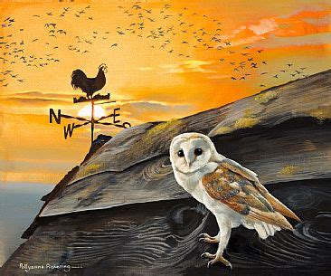 paint nite pickering barn owl painting by pollyanna pickering