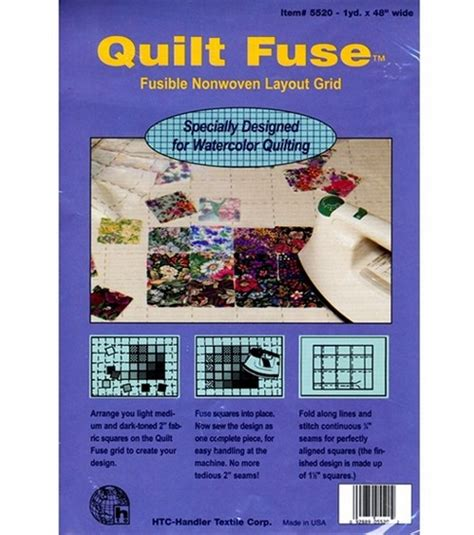Quilt Fuse by Quilt Fuse Fusible Nonwoven Layout Grid Jo