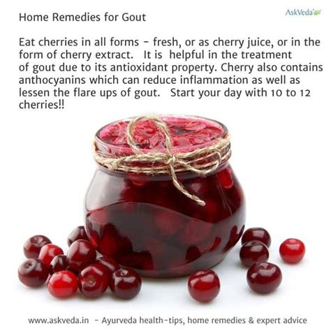 tart cherry juice for gout the incredible edible cherry pinterest