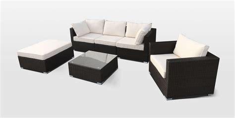 set divani da giardino set arredo per esterni divano e poltrone per giardino