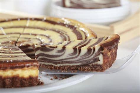 tostapane nutella recette zebra cheesecake aux 2 chocolats 750g