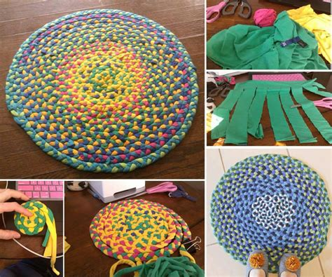 diy large area rug how to make beautiful area rug with t shirts step by step diy tutorial thumb