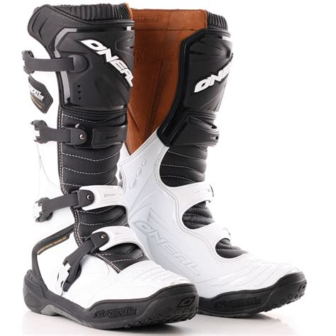 leather dirt bike boots oneal element 3 profit off road enduro dirt bike leather