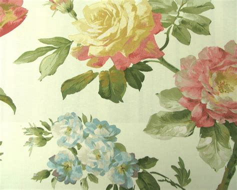 waverly fabrics casa di fiori cameo interiordecorating