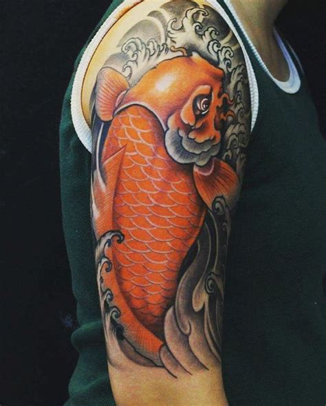 koi fish sleeve tattoos designs 58 best images about koi fish design ideas on