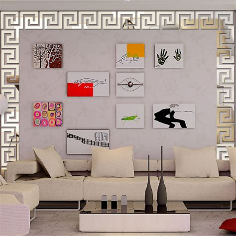 home decor 3d stickers 2016 new 3d mirror wall stickers acrylic sticker adesivo