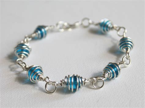 how to bead a bracelet how to make a caged bead bracelet emerging creatively
