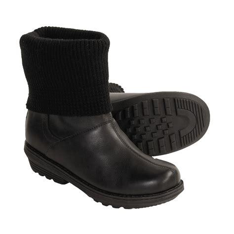 sorel juneau winter leather boots waterproof insulated