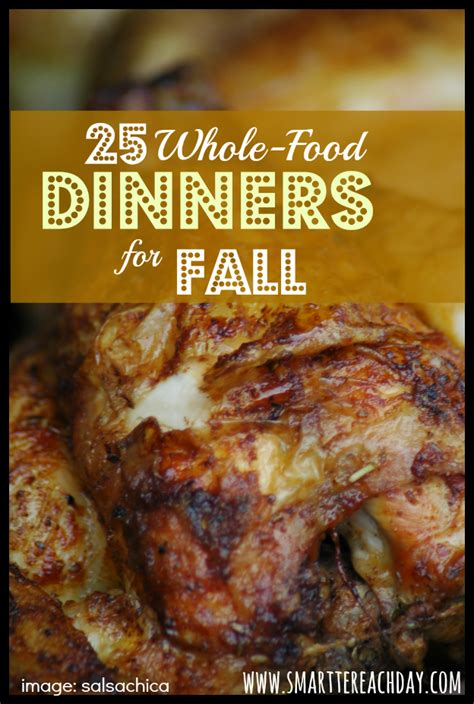 25 frugal whole food dinners to make in the fall