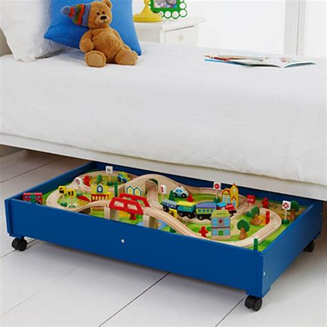 under bed train table under bed train table young ones wooden under bed train