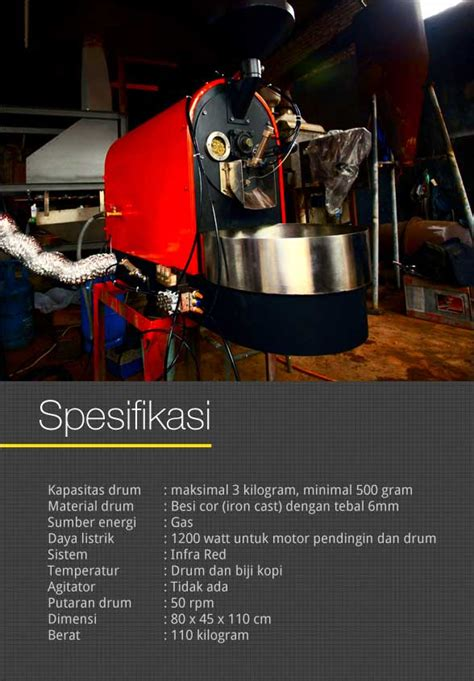 Mesin Roasting Froco infra roasting machine from froco cikopi