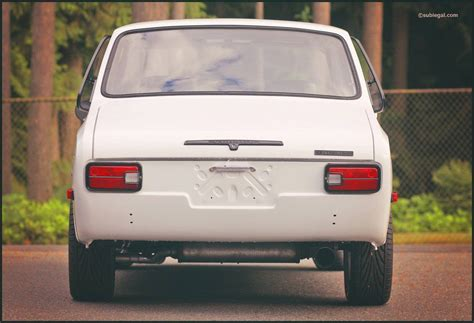Subaru Ff1 by 1970 Subaru Ff 1 Coupe Custom Exhaust