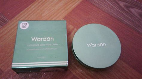 Harga Wardah Exclusive Two Way Cake review bedak wardah exclusive kosmetik lokal yang