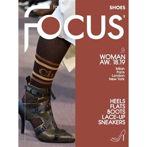 fashion focus woman shoes magazine subscription design