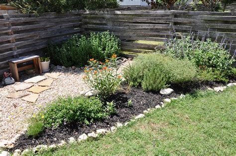 backyard rock garden small backyard ideas a round rock garden