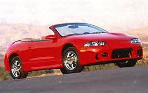 Mitsubishi Eclipse Edmunds Used 1998 Mitsubishi Eclipse Spyder Pricing Features