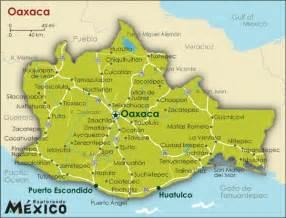 Azull oaxaca mapa oaxaca jpg