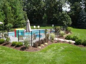 landscaping around a pool 25 best ideas about fence around pool on pinterest