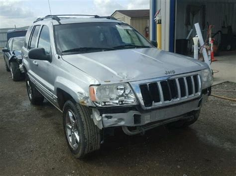 totaled jeep grand salvage jeep grand cherokee suvs for sale and auction