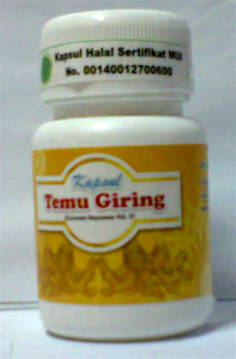 kapsul temu giring inti herbal