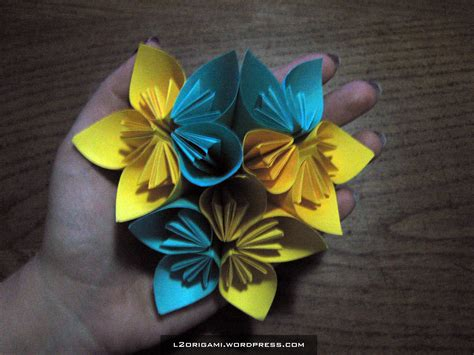 How To Make A Paper Work - origami flowers learn 2 origami origami paper craft