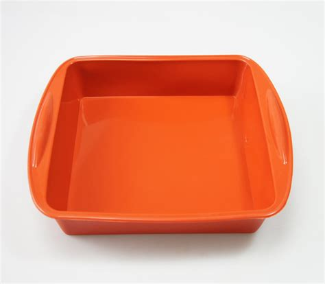 silicon tray 8 inch 200mm square silicone cake baking mould tray