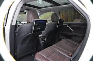 Lexus Rx 350 Interior 2016 Lexus Rx350 Interior Noble Brown Sapele Wood 7