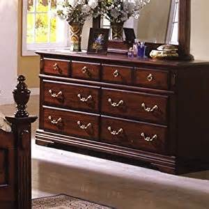 Bedroom Dressers Solid Wood Lewisberg Solid Wood Cherry Finish Bedroom Dresser