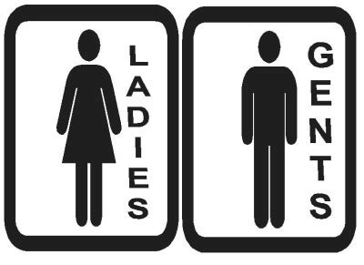 ladies and gents bathroom signs ladies and gents toilet signs clipart best