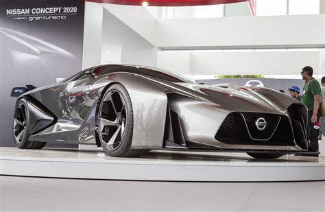 nissan gran turismo nissan concept 2020 vision gran turismo unwrapped at goodwood