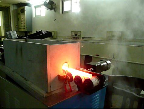 induction heating metal commercial 100kw induction heat treatment equipment for steel bar heating