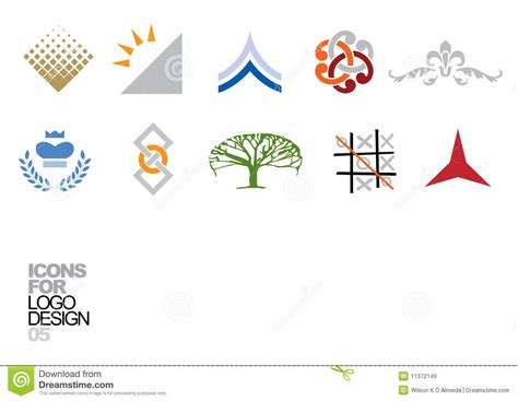 logo templates vector logo design vector elements 05 stock vector image 11372149