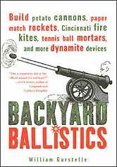 backyard ballistics book backyard ballistics potato canon kite tennis