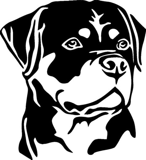rottweiler stickers decals rottweiler k9 rottie vinyl decal sticker ebay