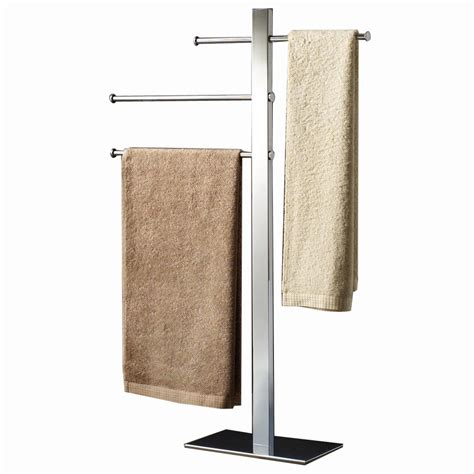towel racks for small bathrooms shop nameeks gedy bridge chrome brass towel rack at lowes com