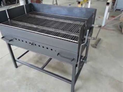 Grille Barbecue 68x40 by Barbecue Fatto A Bidone Pt 2 Doovi