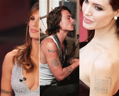 tattoo di johnny depp tattoo changing mania come johnny depp e angelina jolie